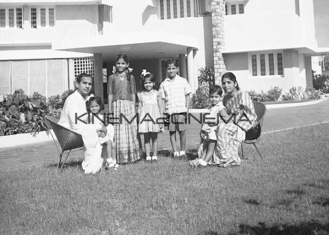 Akkineni Nagarjuna Family, Age, Childhood Photos