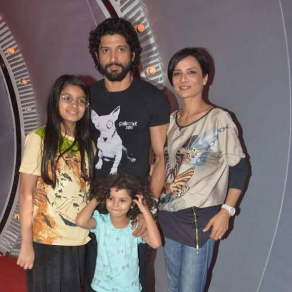Farhan Akhtar Family Pictures, Wife, Kids, Height