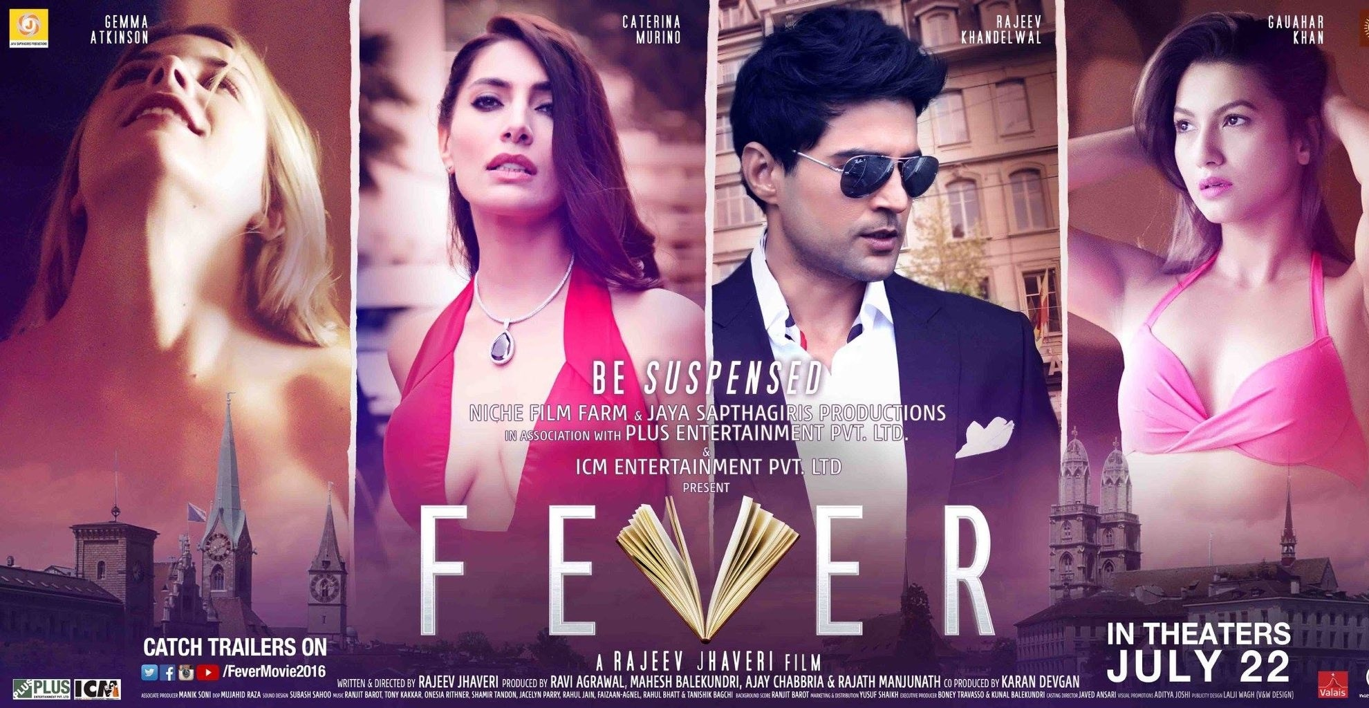 Movies 2016 Posters: Fever Hindi Movie Review, Story, Cast, Release Date, Posters
