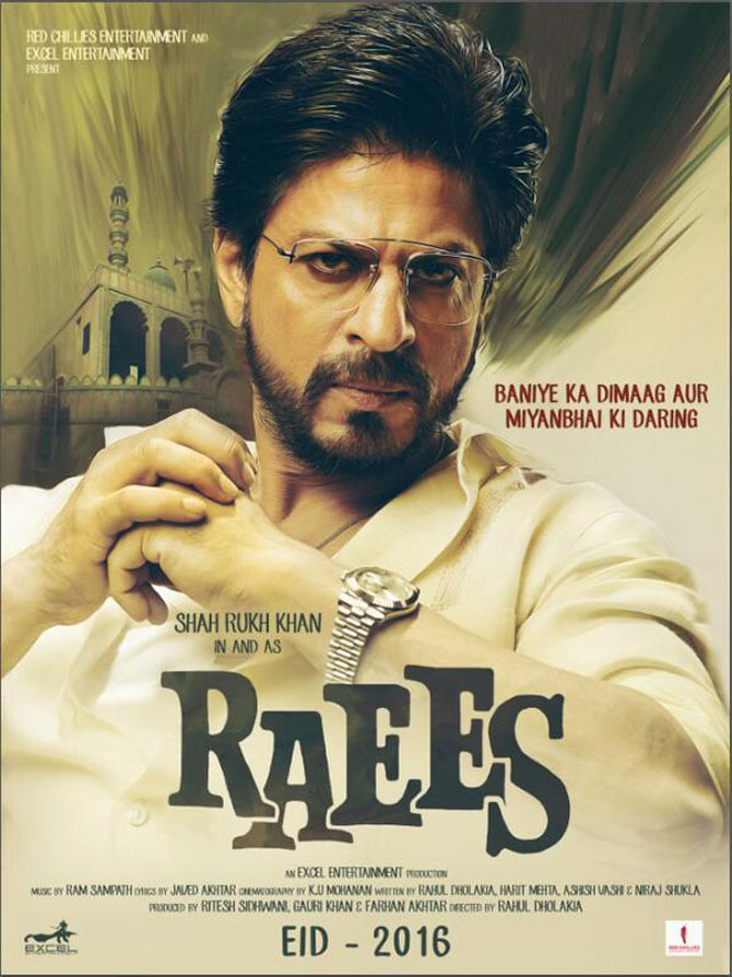 Shahrukh khan New Movie Raees
