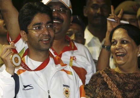 Abhinav Bindra Family Background, Mother, Wife Name, Biography