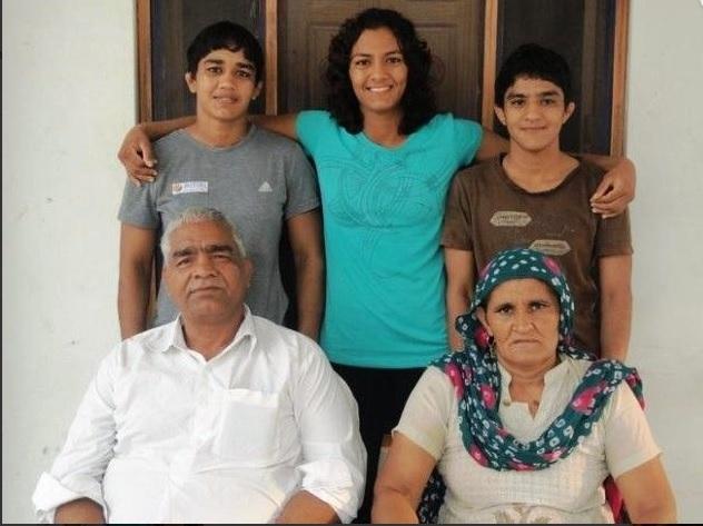 Babita Kumari, Family Background, Father