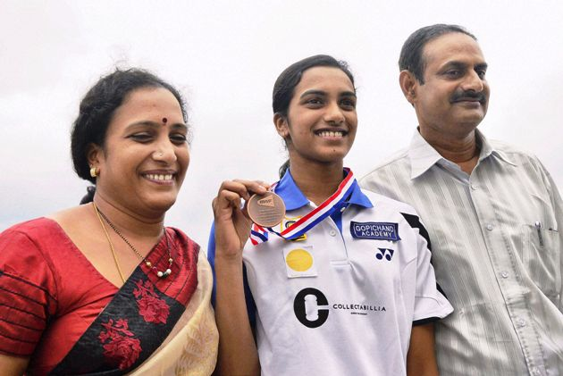 P.V. Sindhu Family Photos, Father, Age, Full Name