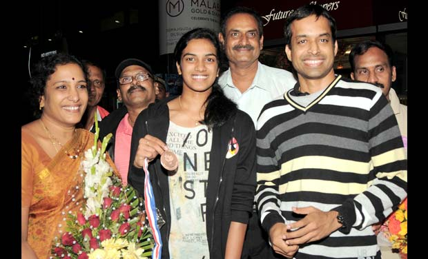 P.V. Sindhu Family Photos, Father, Mother, Full Name