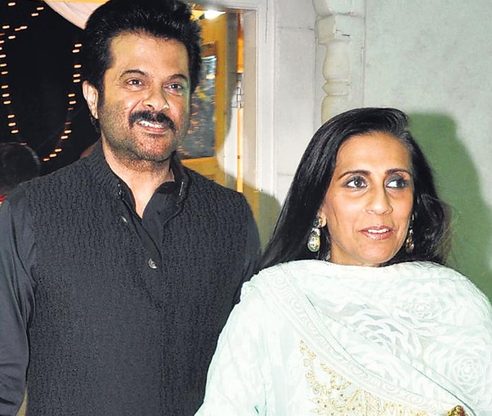 Anil Kapoor Family Photo, Wife, Daughter, Son, Biography