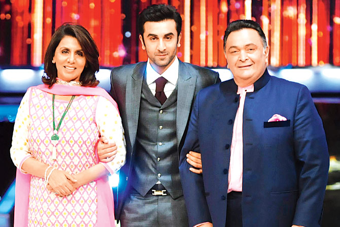 Ranbir Kapoor Family Photos, Father Name, Age, Biography
