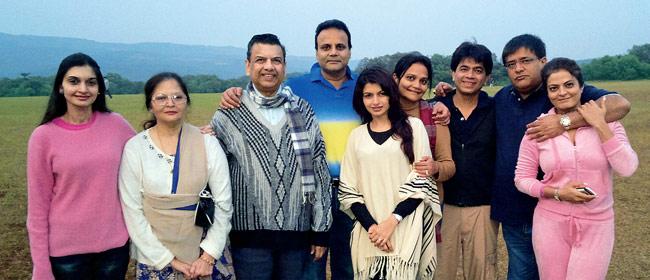 Bhagyashree Family Pictures, Husband,  Son