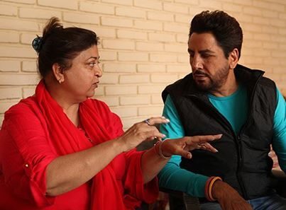 Gurdas Maan Family Pictures, Wife, Son, Height