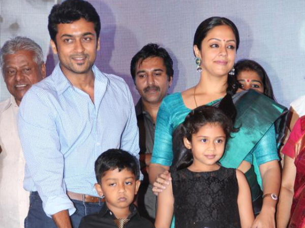 Suriya Family Photos, Father, Wife, Son, Daughter, Age ...