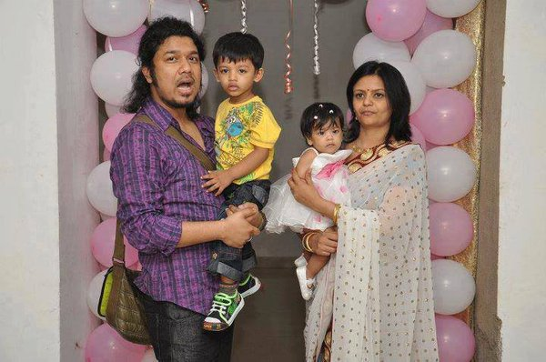 Papon Family Photos, Father, Wife, Son, Daughter, Full Name, Biography