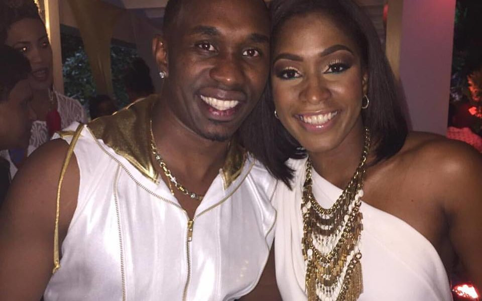 Dwayne Bravo Family Photos, Father, Mother, Wife, Son, Daughter, Biography