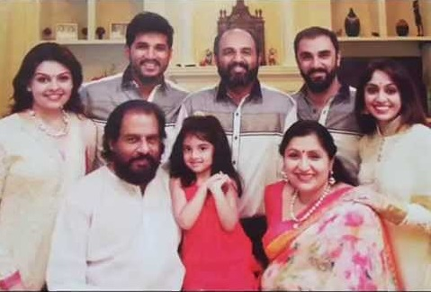 K. J. Yesudas Family Photos, Father, Wife, Son, Grandson, Biography