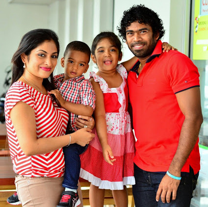 Lasith Malinga Family Photos, Father, Wife, Son, Daughter, Age, Bio