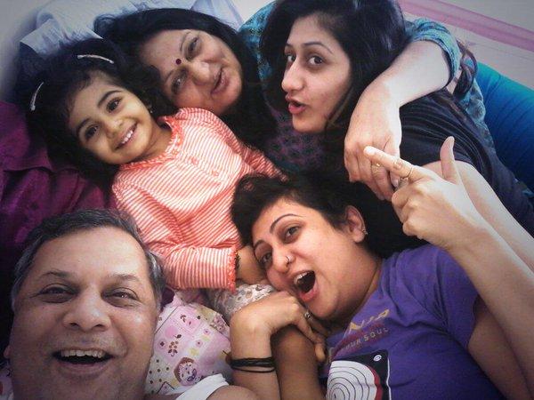 Juhi Parmar Family Pics, Husband, Daughter, Sister