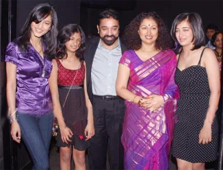 Kamal Hassan Family Photos, Father, Wife, Daughter, Height, Biography