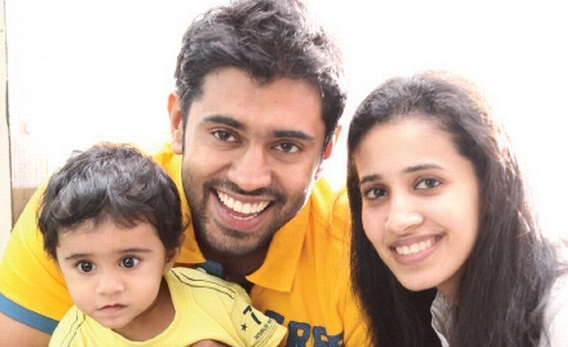 Nivin Pauly Family Photo, Wife, Son, Height