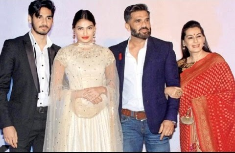 Sunil Shetty Family Photos, Father, Wife, Daughter, Son, Biography