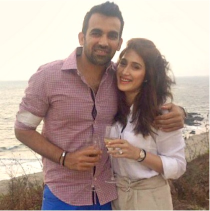 Zaheer Khan And Sagarika Ghatge Engagement Pictures, 1