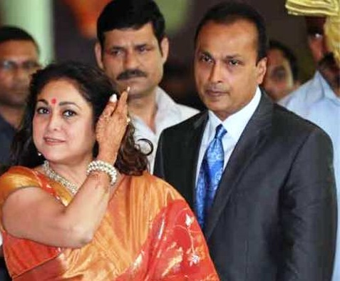 Anil Ambani Family Photos, Wife, Son, Father, House, Net Worth, Bio
