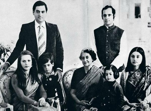 Indira Gandhi Family Photos, Husband, Sons, Daughter